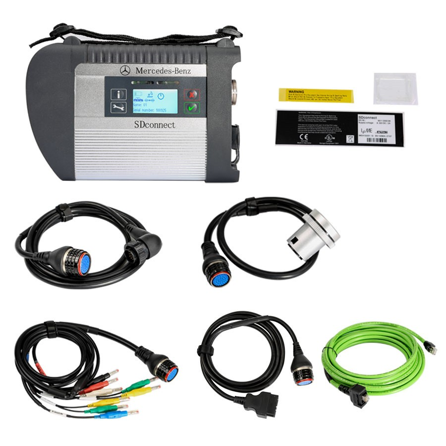 MB STAR C4 + PANASONIC CF-19 Touch-Book XENTRY & VEDIAMO DAS Diagnostic &  Programming Multiplexer